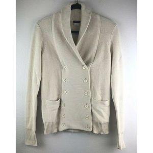J Crew Women's Cream Off White Sweater